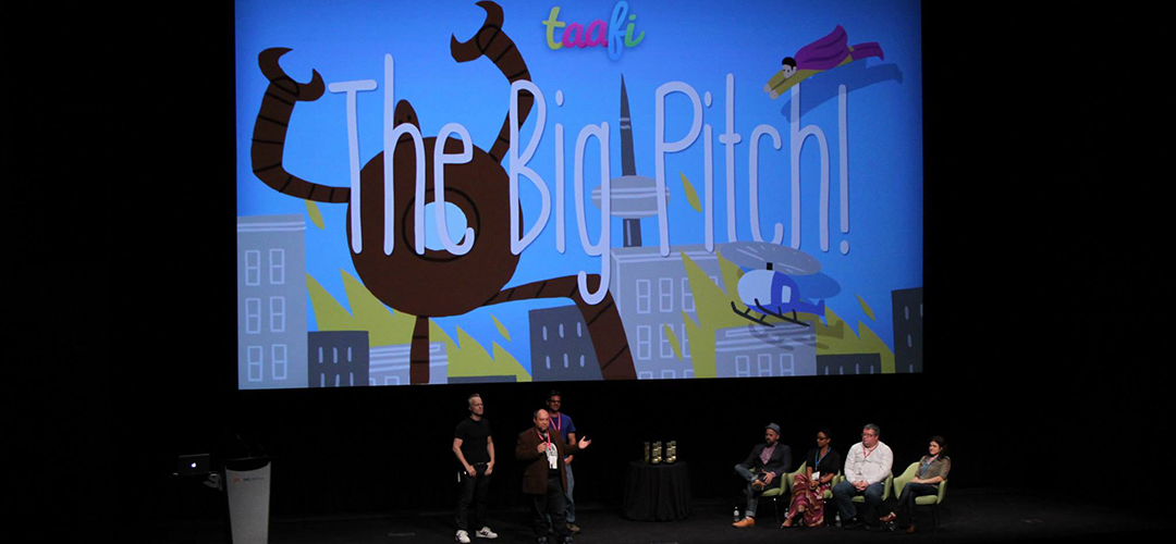FEMALE CREATOR - PITCH COMPETITION + TAAFI 2016 AWARDS
